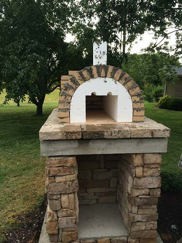 Making An Outdoor Pizza Oven (16)