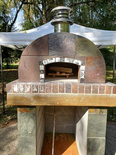 Outdoor Wood Burning Pizza Oven (27)