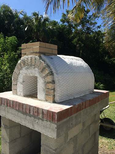 Building An Outdoor Oven (10)
