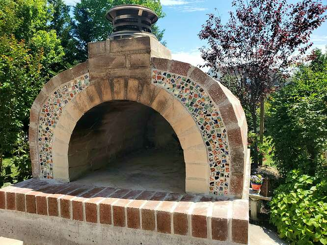 Home Wood Fired Pizza Oven (25)