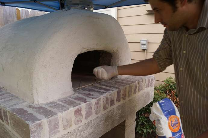 Refractory Cement Pizza Oven (118)