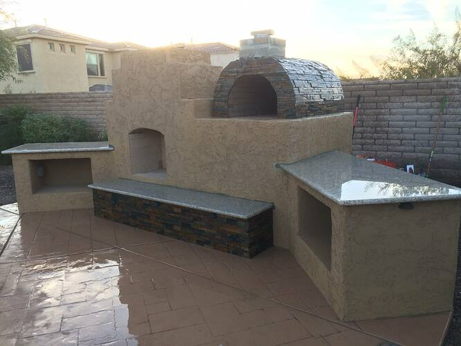 Patio Outdoor Fireplace