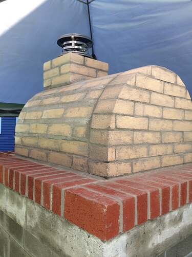 How To Make A Wood Fired Pizza Oven (30)