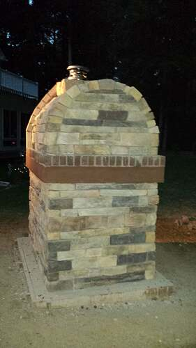 How To Make An Outdoor Pizza Oven (72)