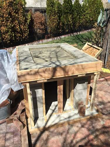 Homemade Outdoor Pizza Oven (20)