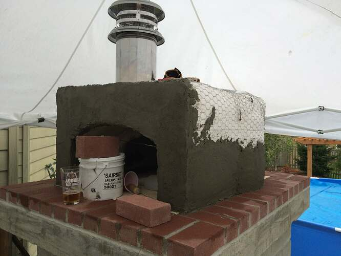 Home Made Pizza Oven (24)