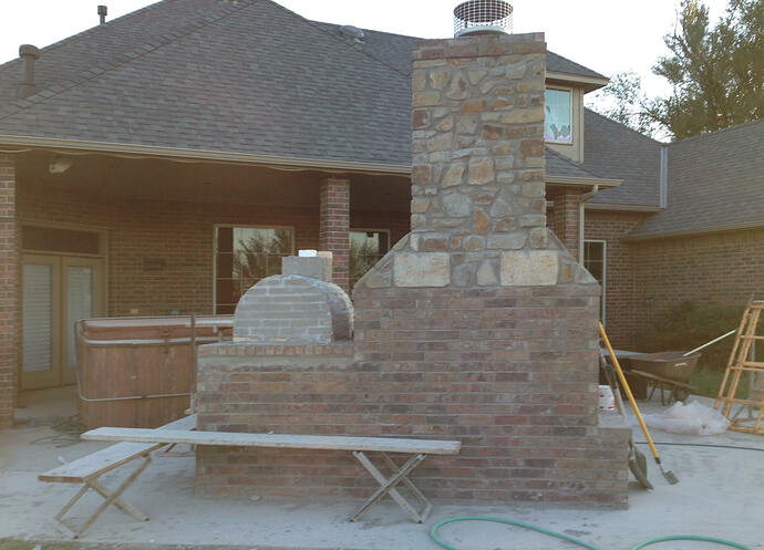 Large Outdoor Fireplace (10)