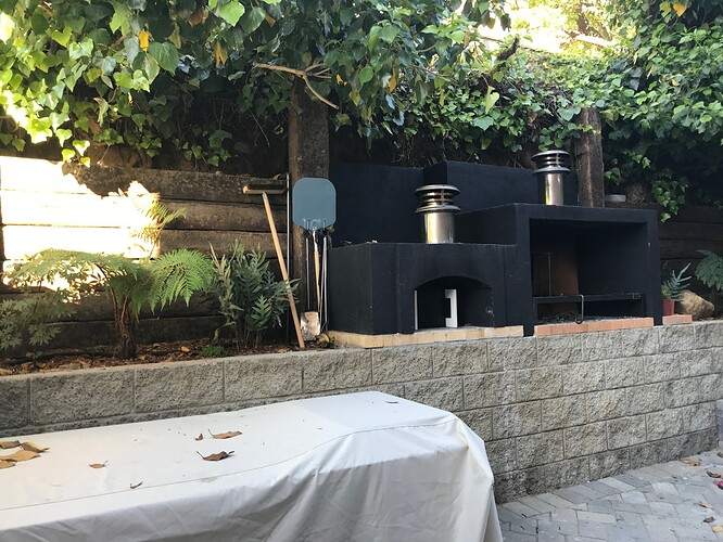 Outdoor Grill With Pizza Oven (1)