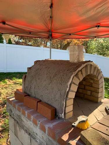 Homemade Wood Fired Pizza Oven (4)