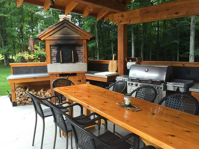 Outdoor Brick Oven And Grill