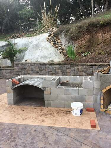 Pizza Oven Over Fireplace (10)
