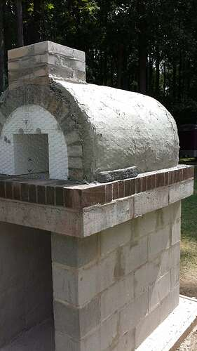 How To Make An Outdoor Pizza Oven (46)