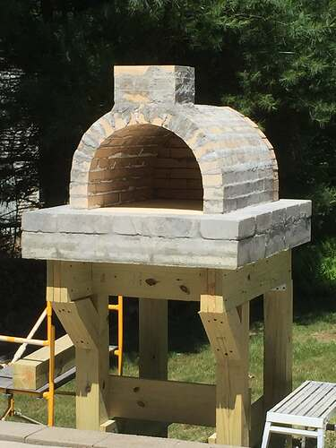 Building a Wood Fired Pizza Oven (27)