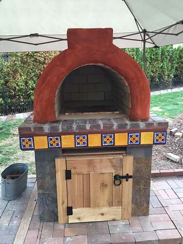Homemade Outdoor Pizza Oven (40)