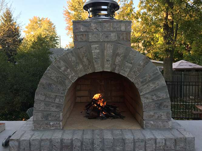 How To Build A Brick Pizza Oven Outdoor (9)
