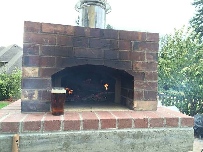 Home Made Pizza Oven (36)