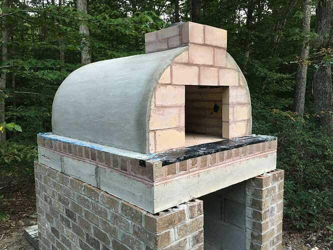 Wood Fired Brick Oven (90)