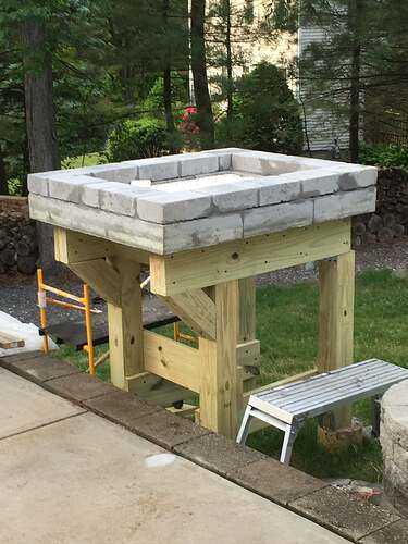 Building a Wood Fired Pizza Oven (10)