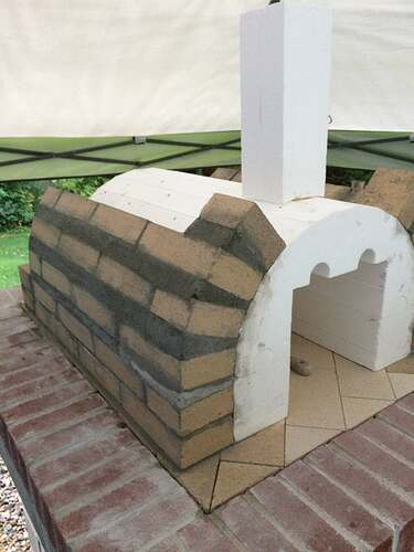 How To Make A Wood Fired Pizza Oven (27)