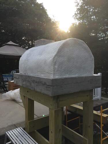 Building a Wood Fired Pizza Oven (31)