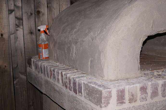 Refractory Cement Pizza Oven (117)