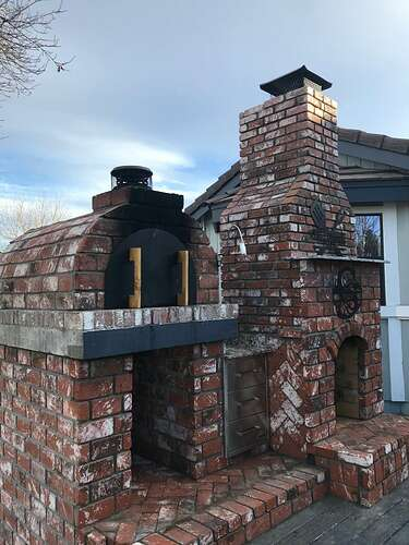 Pizza Oven Fireplace Combo (4)