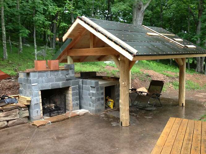 Outdoor Fireplace and Seating (13)