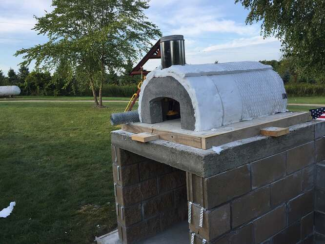 Build Your Own Outdoor Pizza Oven (20)