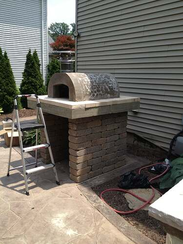 How To Build An Outdoor Brick Oven (65)