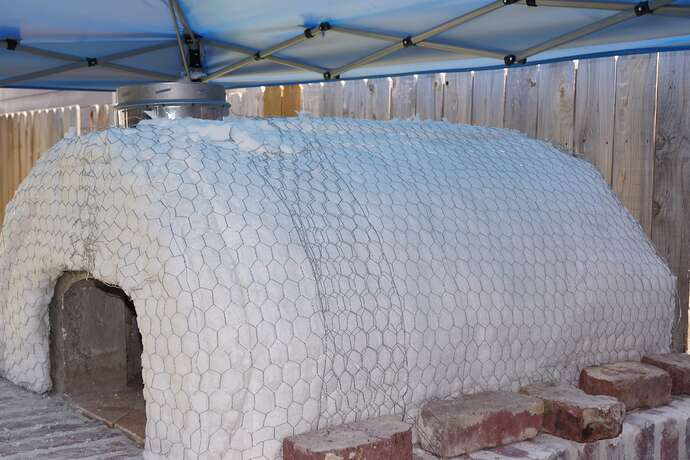 Refractory Cement Pizza Oven (108)