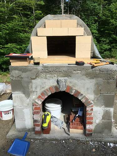 How To Build A Wood Fired Pizza Oven (54)