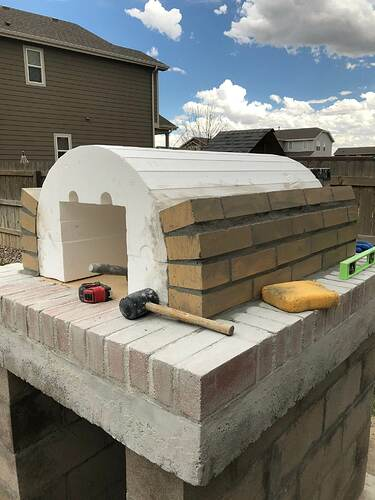 Building An Outdoor Wood Fired Oven (19)