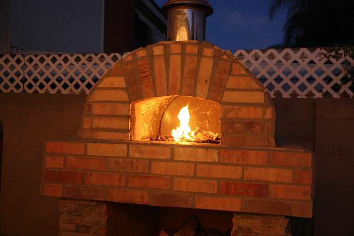 Outdoor Grill With Oven (42)