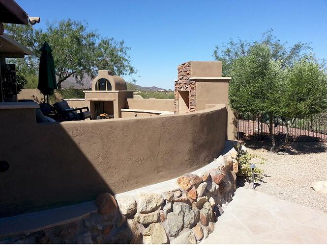 Outdoor Patio Fireplace (8)