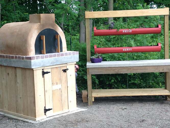 Wood Fired Oven Kit (24)