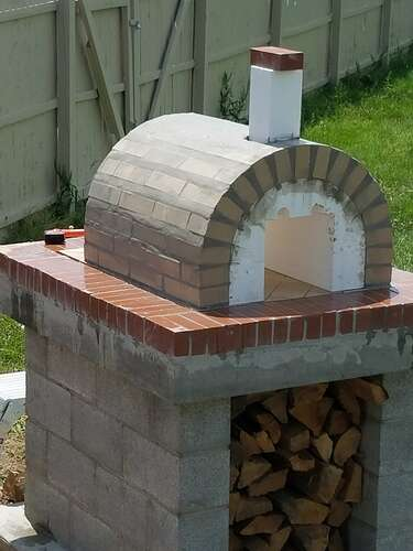Making An Outdoor Oven (18)