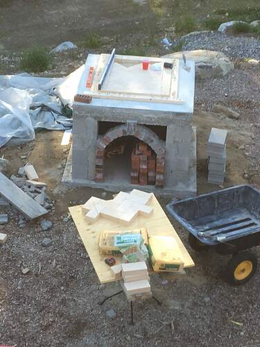 How To Build A Wood Fired Pizza Oven (35)