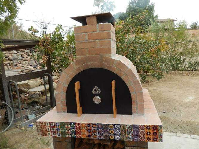 Build Your Own Brick Pizza Oven (33)