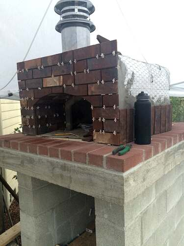 Home Made Pizza Oven (28)