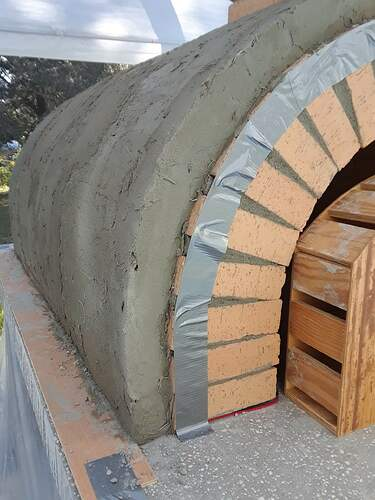 Building A Pizza Oven (165)