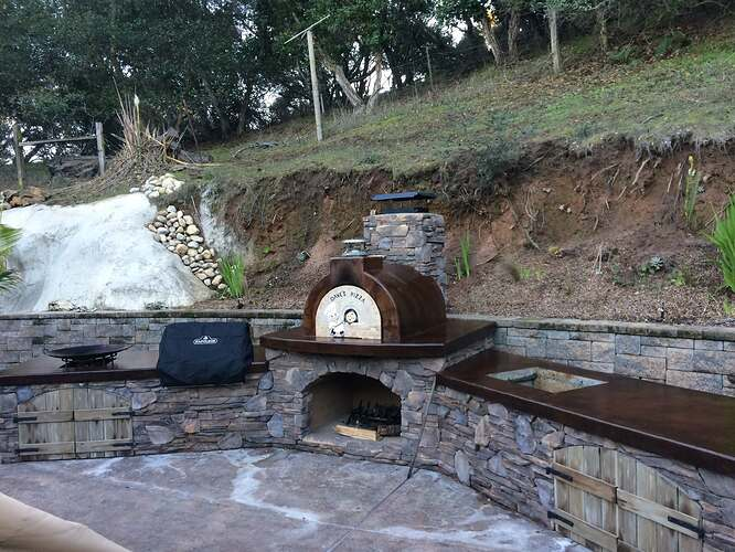 Pizza Oven Over Fireplace (25)