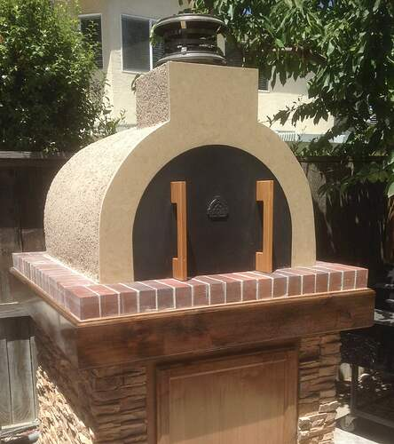 How To Build a Brick Pizza Oven (9)