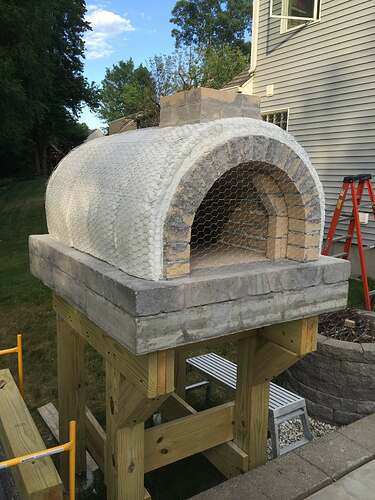 Building a Wood Fired Pizza Oven (32)