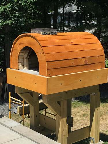 Building a Wood Fired Pizza Oven (44)