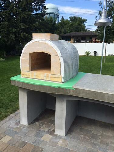 Building A Brick Pizza Oven From Scratch (51)