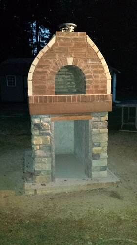 How To Make An Outdoor Pizza Oven (74)