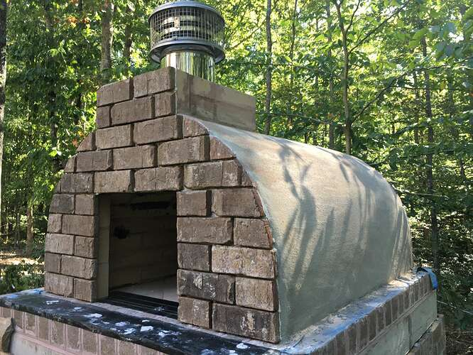 Wood Fired Brick Oven (101)