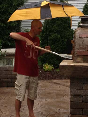 How To Build An Outdoor Brick Oven (102)