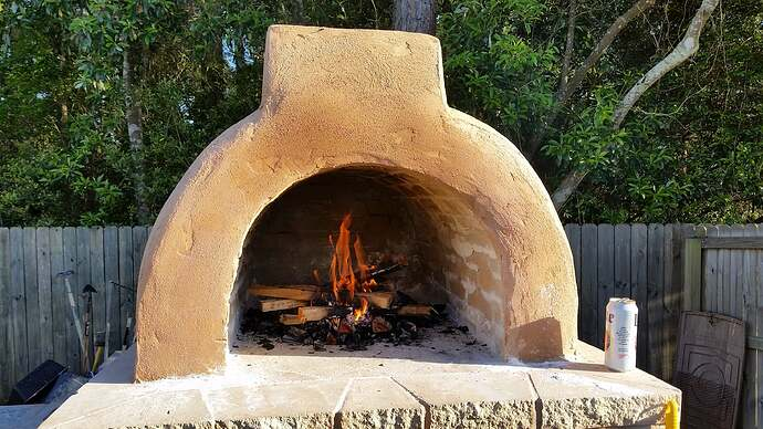 DIY Wood Fired Oven (22)