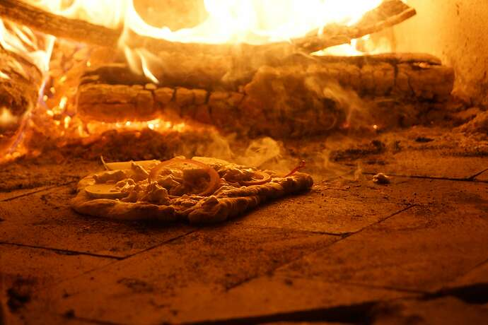 Refractory Cement Pizza Oven (137)